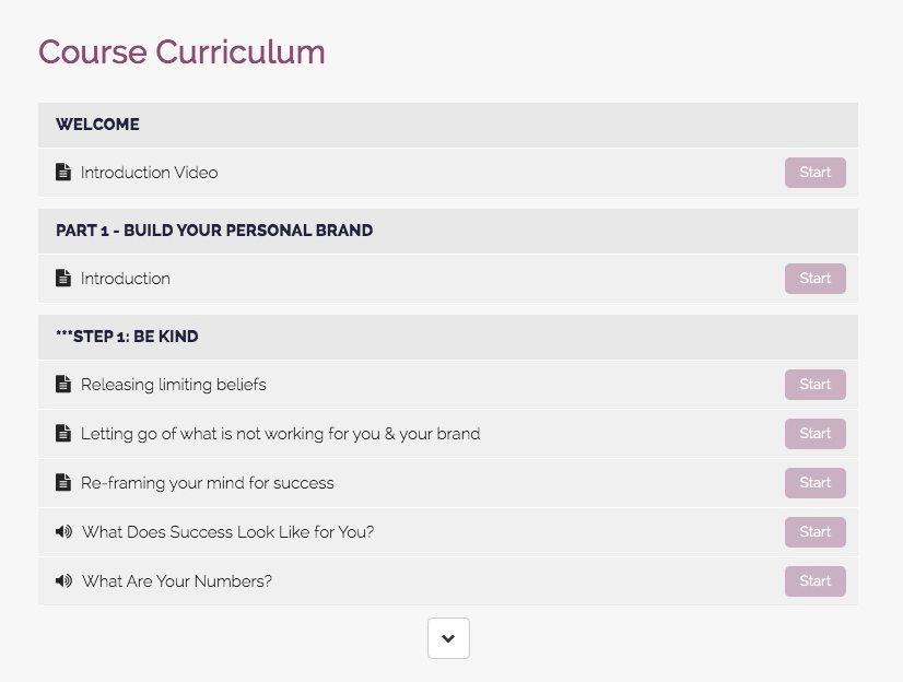 Personal Brand Course_curriculum